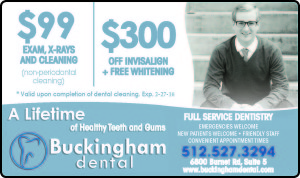 Buckingham Dental New Patient Specials