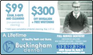 Buckingham Dental New Patient Specials