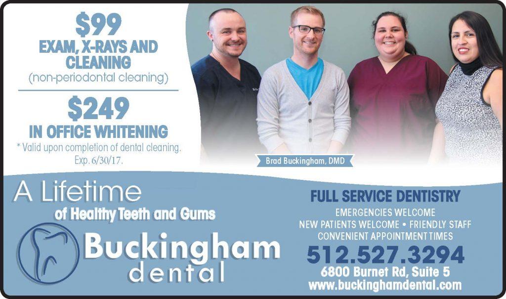 Buckingham Dental Special